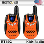 × Retevis RT-602 22CH Kids Walkie Talkie UHF 0.5W Flashlight VOX 2-Way Radio US