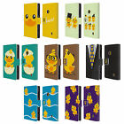 HEAD CASE DESIGNS KAWAII DUCK LEATHER BOOK WALLET CASE FOR NOKIA LUMIA 520 525