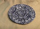 NEW Queen's Malaysia Salad Plate ~ Calico Blue 8 3/8