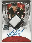 2008-09 UD The Cup Jonathan Toews Auto Patch #24 75 3 Color! Signature Autograph