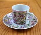 TAKAHASHI Demitasse Cup and Saucer San Francisco Made in Japan