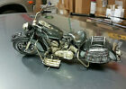 Custom Motorcycle Art Harley Davidson Rolling Wheels Moveable handlebar Indian