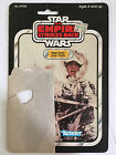 Star Wars Empire Strikes Back Han Solo Hoth Outfit Vintage Card Back 1980