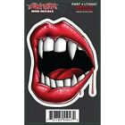 Sexy Vampire Lips Sticker For Motorcycle Windshield Fork Fairing Lethal Threat