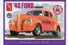 AMT [AMT] 1:25 1940 Ford Coupe White Plastic Model Kit AMT730