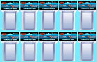 100 ULTRA PRO TOBACCO SIZE CARD TOPLOADERS SLEEVES Combo 10 Pack Trading Sport