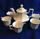 Johnson Brothers HERITAGE Teapot (MADE IN ENGLAND) and 5 cups