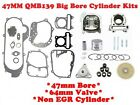 80cc BIG BORE KIT FOR SCOOTERS WITH 50cc 60ccQMB139 MOTORS WITH 64mm VALVES