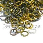 Lot Of 100 Open 6mm Round Jump Rings 21 Gauge 0.71mm Jewelry Jumpring Findings