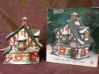 Heartland Valley Village Lighted Hand Painted SANTAS GIFT SHOP Porcelain