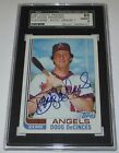 1982 Topps Traded 26T Doug DeCinces Signed Card SGC 88 NM MT 8 Auto 7 Angels