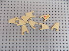 Lego 44676 Flag 2x2 Trapezoid Star Wars, City, Castle, Pirate lot of 9 Tan