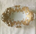 Gold Reticulated Bowl-Crossed Swords-1st Quality.   *892