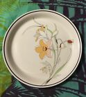 Carico Casual Collection SERENITY 9551 Japan Chop Plate Round Platter Flower