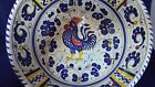 Blue Rooster P.V. Italy Deruta PV Large Pasta Serving Bowl Dish Vibrant colors
