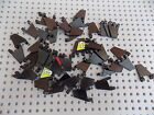 Lego 44676 Flag 2x2 Trapezoid Star Wars, City, Castle, Pirate lot of 46 Black