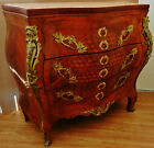 Gorgeous French Louis Style Cabinet Bombay Chest of Drawer Console Marble Top