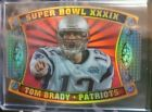 2011 Topps Tom Brady New England Patriots SP Super Bowl Legends Giveaway Die Cut