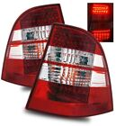 Fit 98-05 Merceses Benz W163 ML320 ML430 ML500 ML55 Red Clear LED Tail Lights