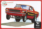 AMT 1965 Ford Mustang Funny Car 1/25 model kit new 888 x