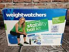 Weight Watchers Stability Ball Kit 4 Complete Workouts with DVD