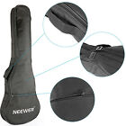 Neewer Black Padded 26 Inch Ukulele Gig Bag w Grip Handle and Extra Pocket