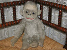 Old Antique German Grey Mohair Monkey 41 CM