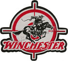 Winchester Woven Patch Iron on Rifles Badges Guns Hunters