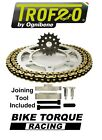 Ducati 350 Indiana / F3 87-88 Trofeo 530 Pitch Chain And Sprocket Kit + Tool