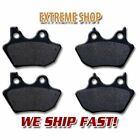 Harley F+R Brake Pads Dyna FXD Super & Wide Glide / Low Rider 1450 (2004-2005)