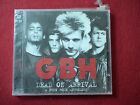GBH , DEAD ON ARRIVAL: A PUNK ROCK ANTHOLOGY  NEW SEALEAD  CD