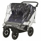 Playshoes Baby Travel Universal Pushchair Buggy Tandem Duo Twin Rain Cover. Free