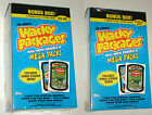 Wacky Packages 2007 Series 6 ANS6 bonus box lot of 2 new & sealed