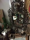 Hubbard Mirror Rare triple Candle Holder