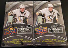 Lot of (2) UD Upper Deck 2011 11-12 Series 2 HK Factory Sealed 24 Pack Hobby Box
