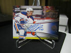 NAIL YAKUPOV LOT AUTO CANVAS CONTOURS YOUTH MOVEMENT 2015 UD UPPER DECK OILERS