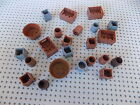 Lego Lot of 23 Barrel Cartes Containers frinds city town pirate castle