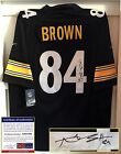 Pittsburgh Steelers Antonio Brown Signed Jersey PSA DNA Authenticated