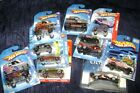 Hot Wheels Large Lot Trucks Cars Vans Racers New On Cards