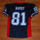 2008 James Hardy Buffalo Bills Authentic Football Jersey-#81-Not Game Used