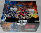 DC comics EPIC BATTLES FACTORY SEALED TRADING CARD BOX