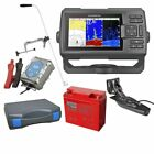 Garmin STRIKER Plus 5cv Echolot & Fishfinder mit ClearVü Portabel Set-XXL-2