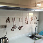 Removable HAPPY KITCHEN PVC Mural Decal Wall Stickers Kitchen Decor Art Vinyl