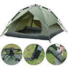 3 4 Person Waterproof Camping Tent Double Layer Family Hiking Automatic Instant