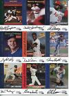 Lot Sports Illustrated Autograph Collection Fleer 1999 Signed Baseball 9 Cards