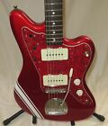 1994 Fender Jazzmaster Reissue Electric Guitar Made In Japan Candy Apple Red