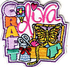 CRAFT DIVA IRON ON PATCH CRAFTS HOBBY SEWING SCRAPBOOKING JEWELRY