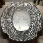 Wilton Armetale RWP Acanthus Large Oval Tray #373564 Extra-Heavy 19.5