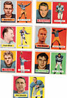 1957 Topps Football Set-154 cards-78 PSA Graded FREE S&H