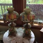 Vintage Accurate Hand painted Pair Of GWTW Lamps Lot of two 2